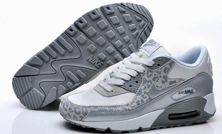 quality design 69270 dc2ce Nike Air Max 90 grå leopard Skor kvinna