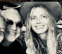 Flavio Briatore e la prima foto con Heidi Klum e la figlia mai riconosciuta