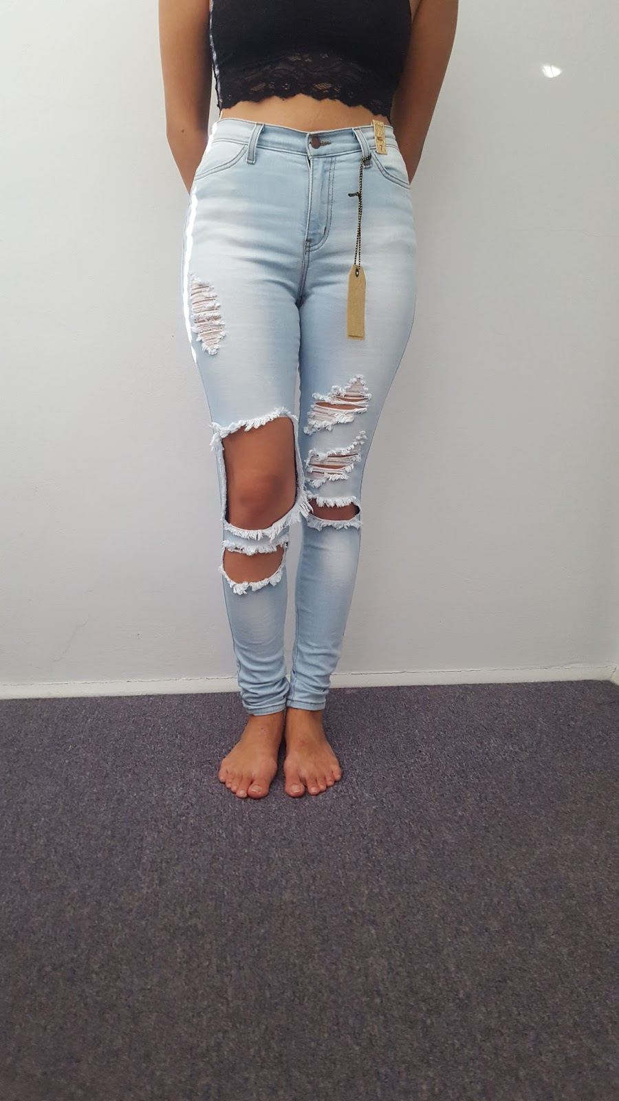 """Miss Me girls Size 7 Bootcut jeans I believe these were medium blue wash All the buttons are present There are some very light stains on the right thigh and left knee. Please refer to pictures. Last picture is the right thigh, second to last is the knee inseam about 24"""" From a smoke free home."""