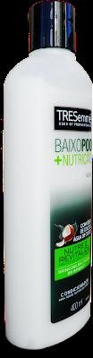 Teste Condicionador liberado para No Poo, Low Poo e Cowash da Tresemmé (Baixo Poo +Nutrição)