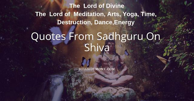 5 Lord Shiva Quotes: Sadhguru On Shiva