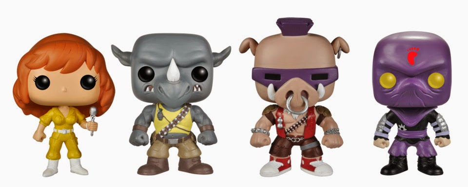 Funky Pop Funko Figures Preview Teenage Mutant Ninja
