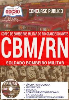 APOSTILA específica para o cargo de Soldado do Corpo de Bombeiros do Rio Grande do Norte