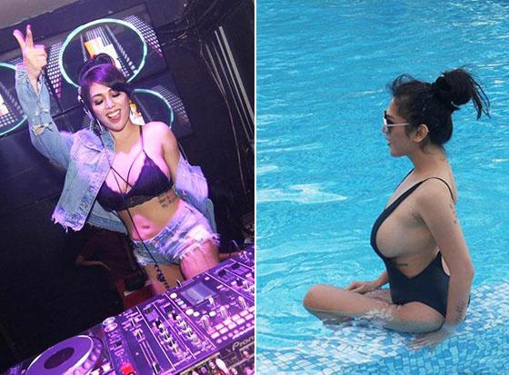 Video Detik-Detik Artis Hot Gebby Vesta di Lecehkan Saat Tampil di Club