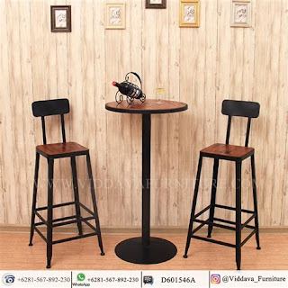 Desain Model Kursi Café Kayu Indoor dan Outdoor 2019