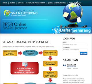 Download Aplikasi Penerimaan Siswa Baru (PSB) Online Berbasis Web Home