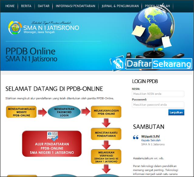 Perangkat Guru Aplikasi Penerimaan Siswa Baru (PSB) Online Berbasis Web