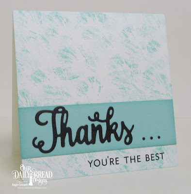 ODBD Thanks for Everything Stamp/Die Duos, ODBD Custom Wishing Die, Card Designer Angie Crockett