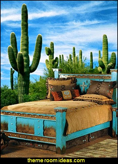 Domingo zu Bed- southwestern furniture-southwestern style decorating ideas