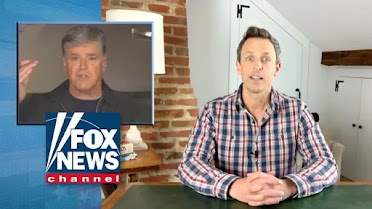 04/02: From The Daily Beast: Seth Meyers On Fire Fuck Fox News ! (click pic for report & video)