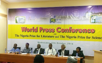 2016 Winner of $100,000 NLNG Nigeria Prize for Literature announced