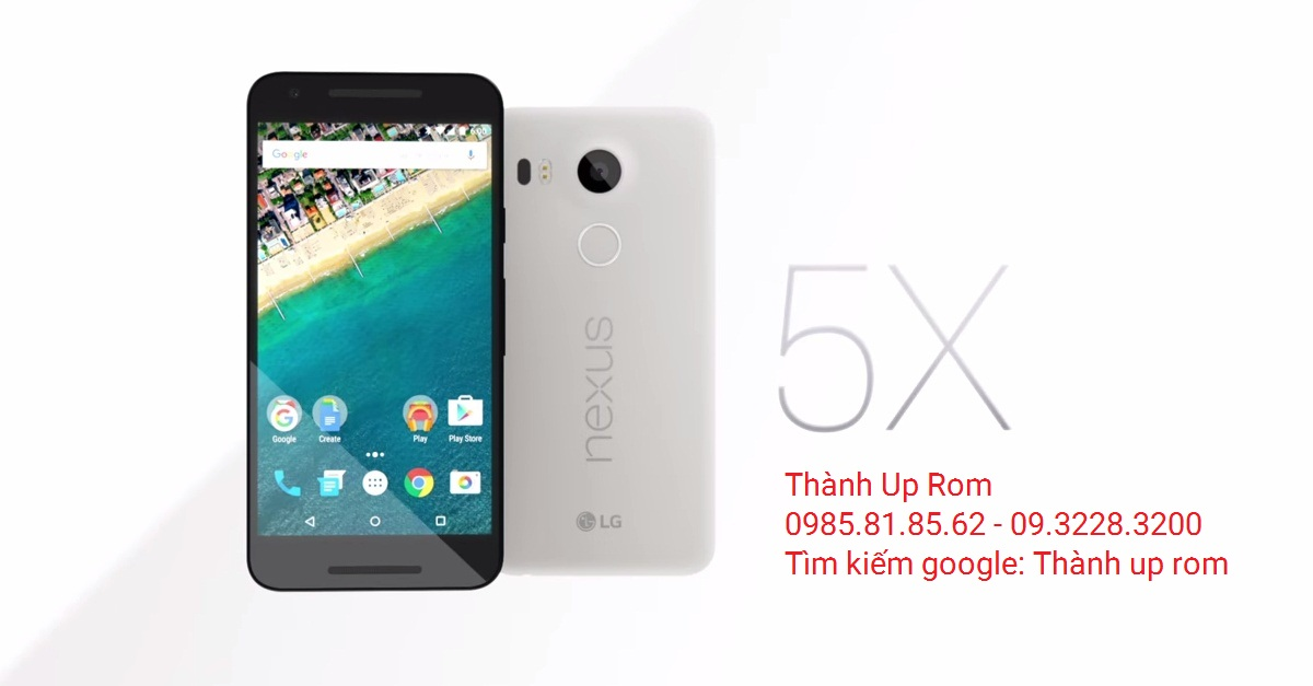 Up Rom Android 8.0, 7.1.2 cho Nexus 5X LG H790, H791 ...