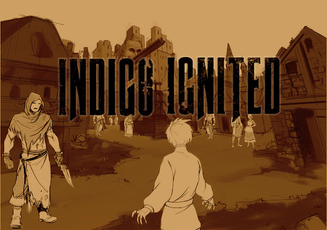 Indigo Ignited an American-made Anime Series