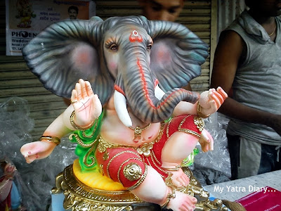 Ganesh statue ready to be taken home, Ganesh Charurthi Festival