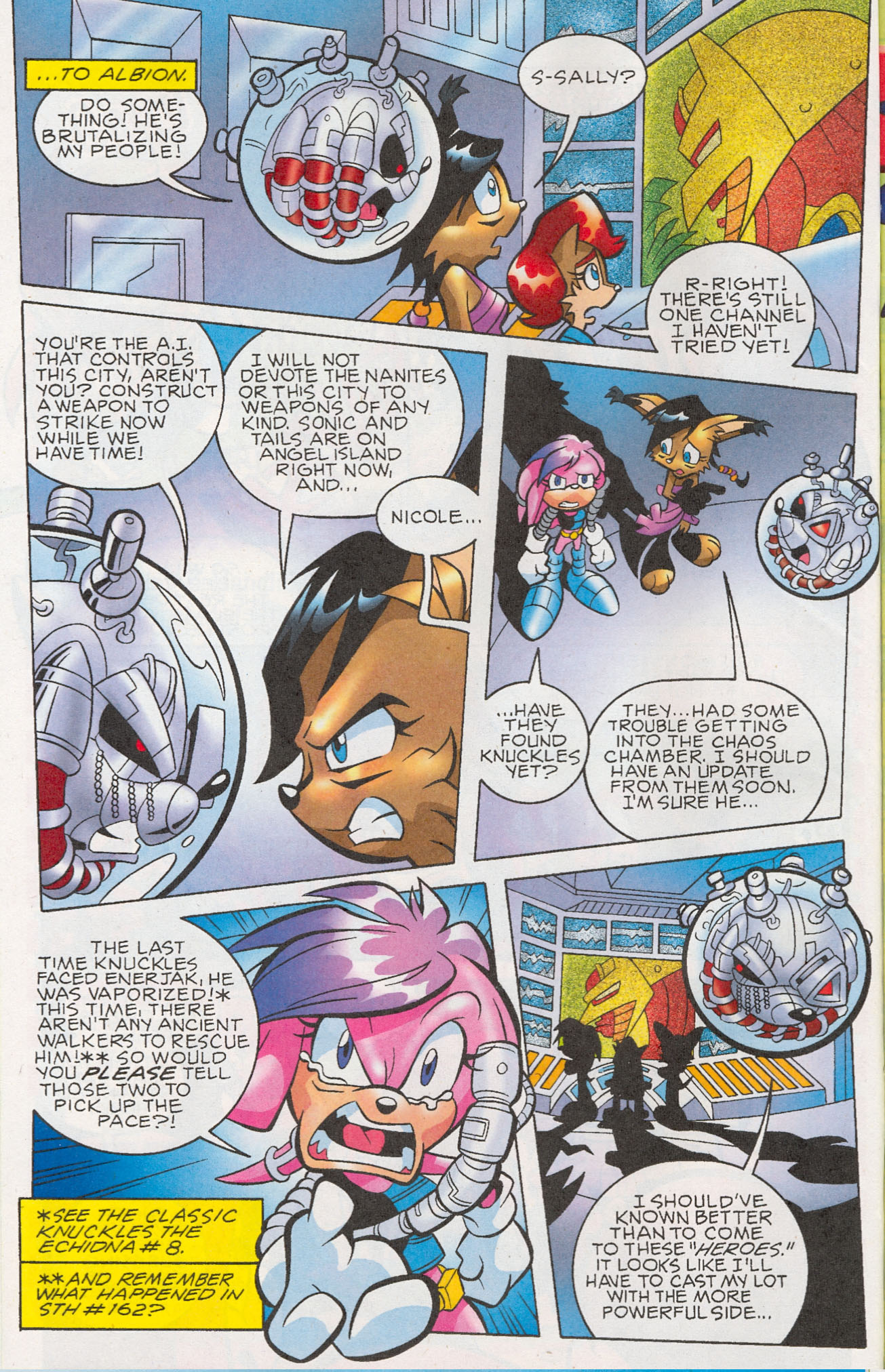 Read online Sonic The Hedgehog comic -  Issue #181 - 9