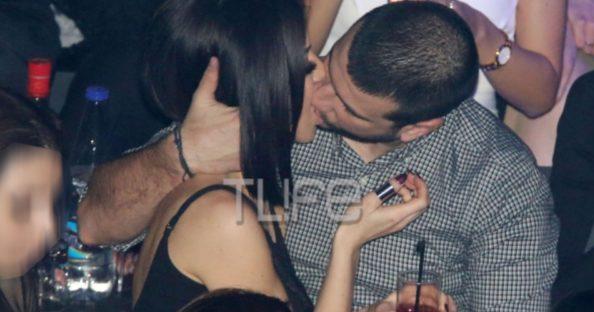 Ειρήνη Στεριανού: Παθιασμένα φιλιά και αγκαλιές με τον νέο σύντροφό της στα μπουζούκια!