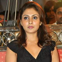 Cute Telugu Actress Madhu Shalini in black dress