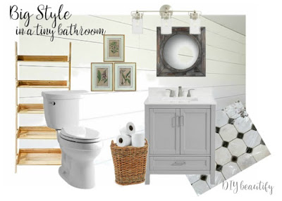 plans for a small guest bath
