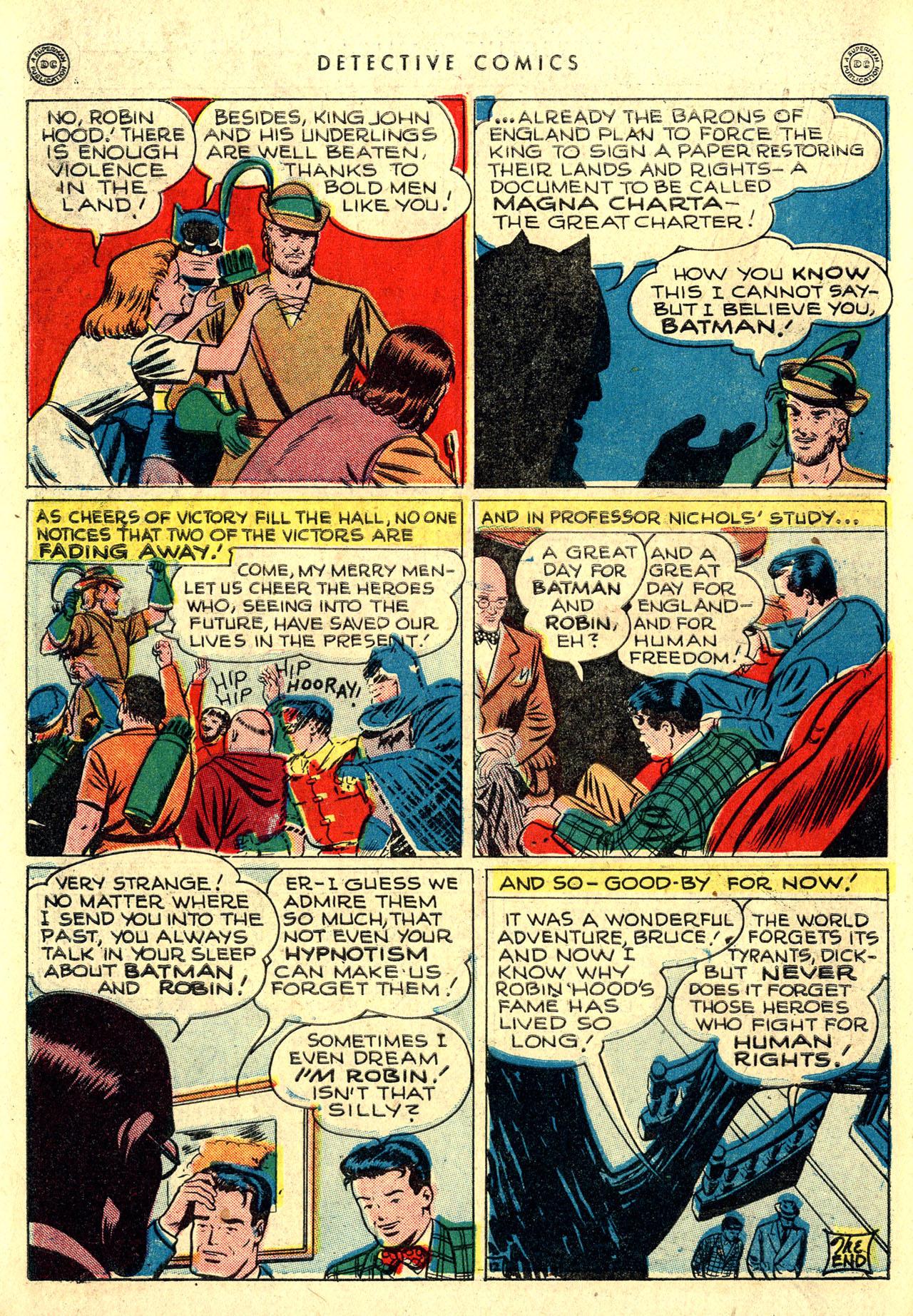 Read online Detective Comics (1937) comic -  Issue #116 - 14