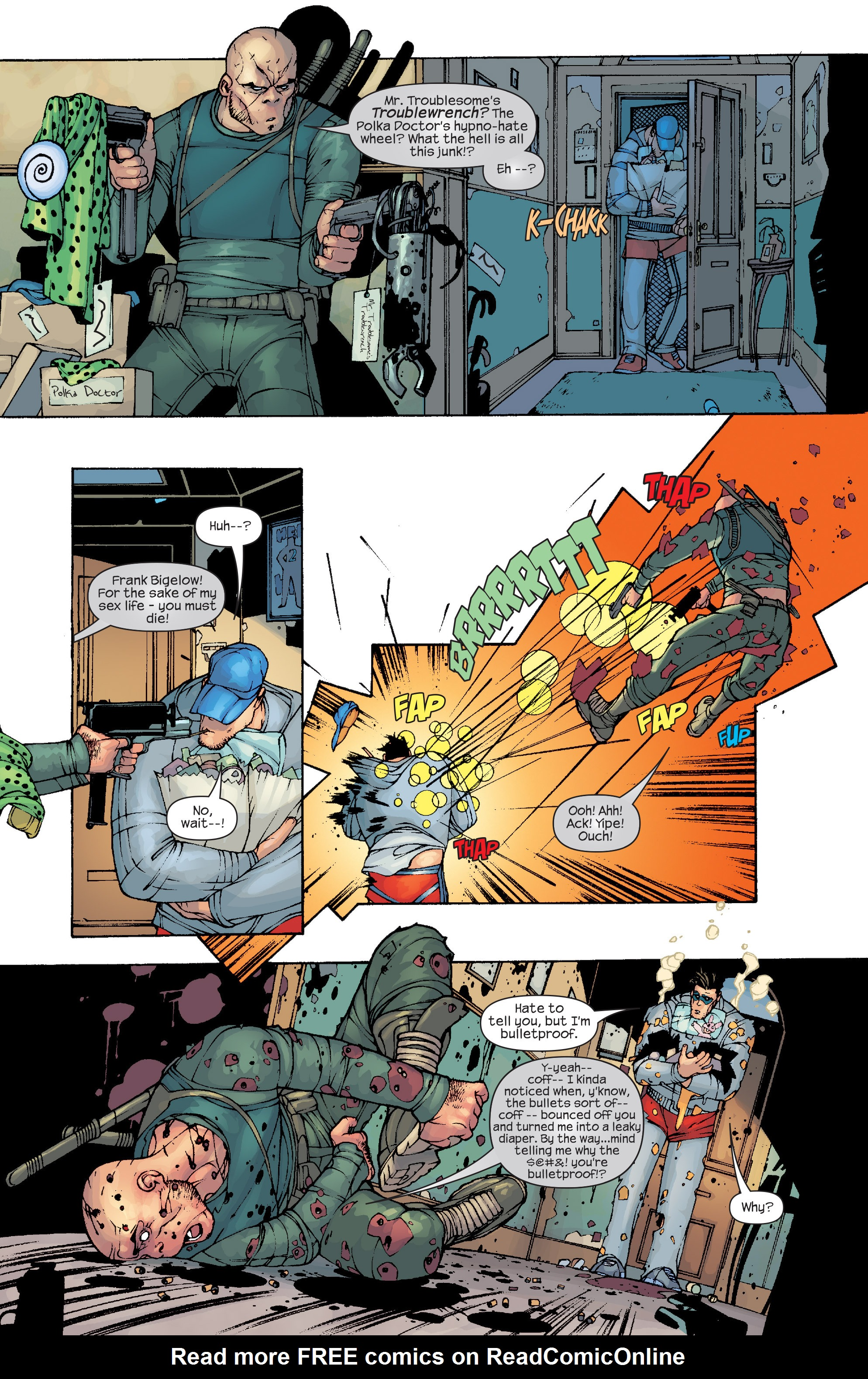 Read online Agent X comic -  Issue #10 - 13