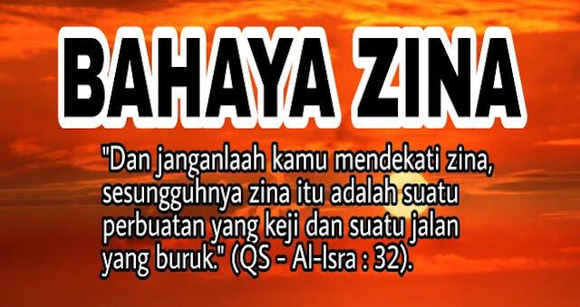 Inilah Sebabnya Mengapa Zina di Haramkan