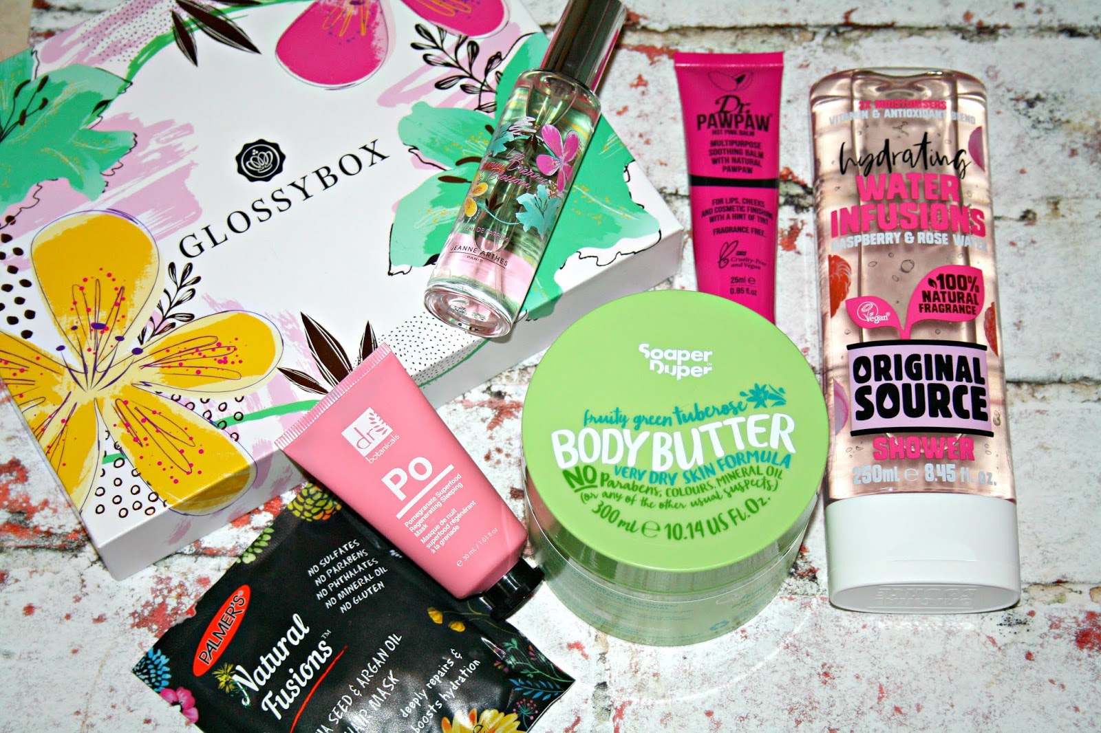 Glossybox April Edition Fruity Or Floral Beauty Queen Uk Bloglovin