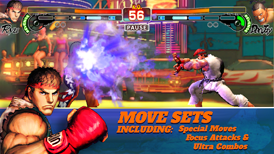 Street Fighter IV Champion Edition apk Mod Full