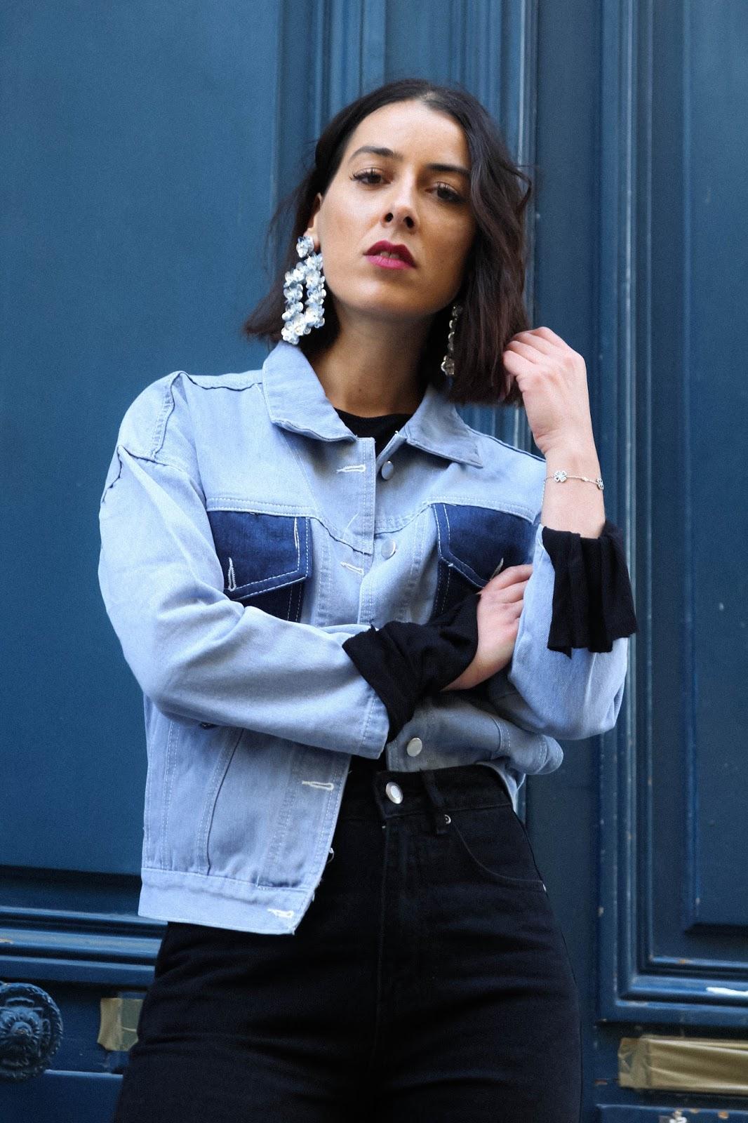 idée de look et tendance au total look en jean , denim