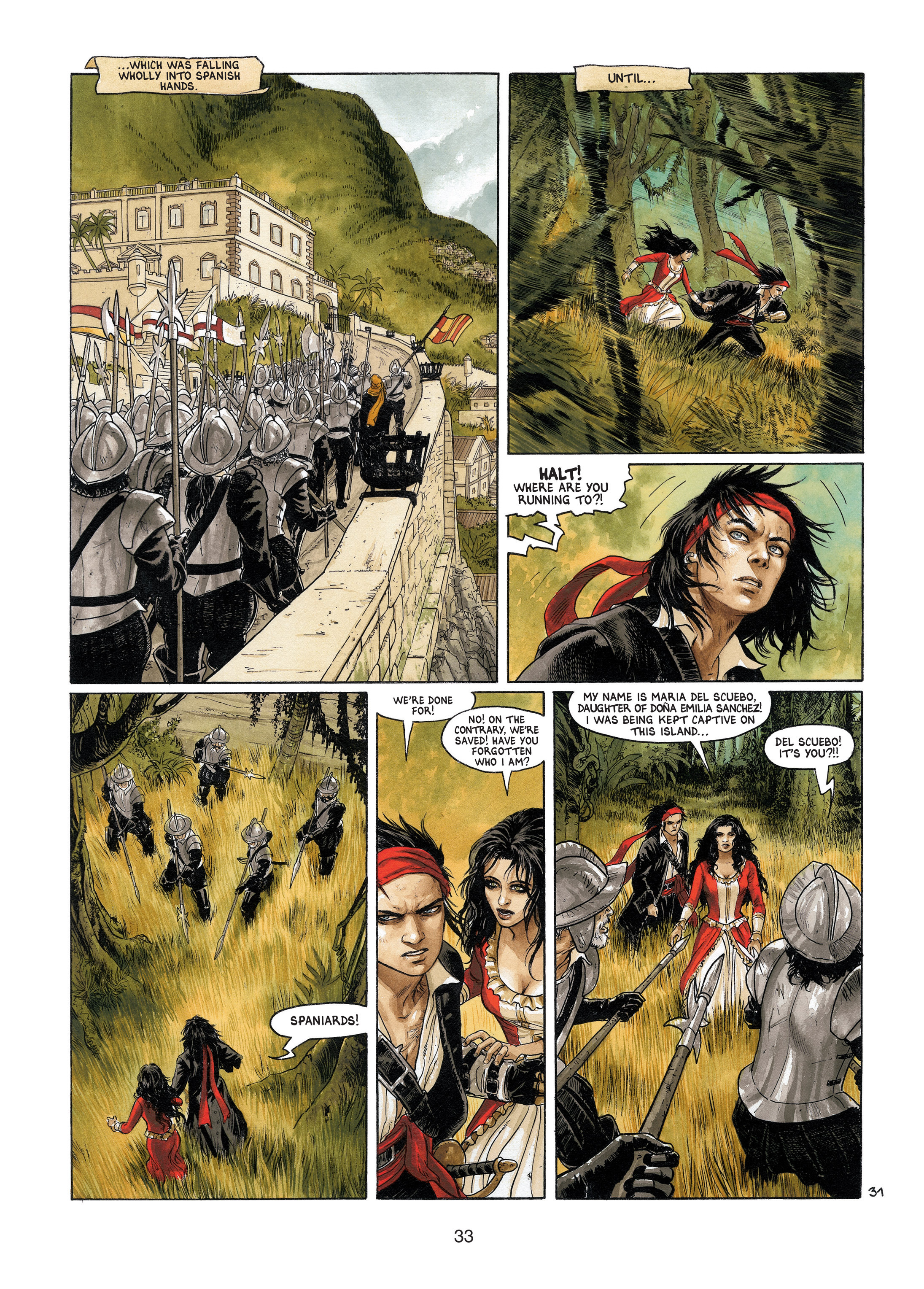 Read online Barracuda comic -  Issue #4 - 34