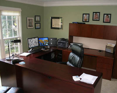 Contoh Gambar Tata Ruang Kantor Semi Terbuka 2021