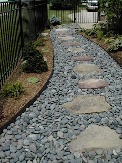 Ideas Make Your Backyard More Interesting With Stone Path