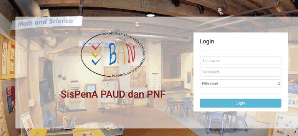 Panduan SisPenA PAUD PNF Tahun 2018