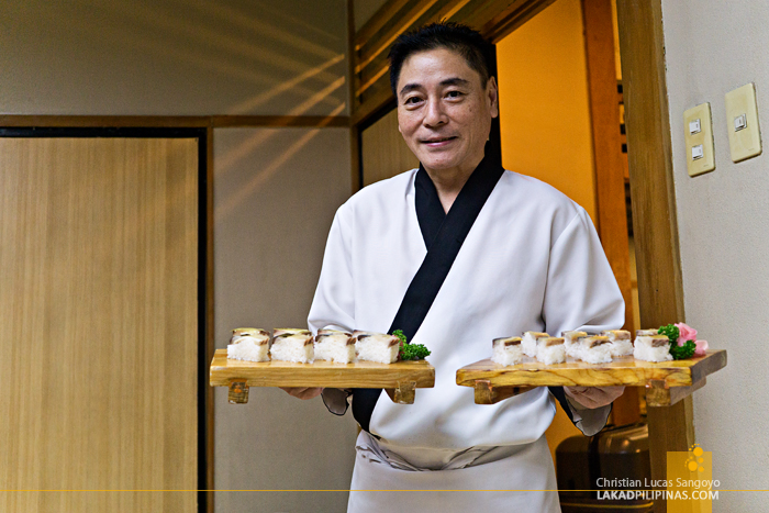 Hatsu Hana-Tei Makati Chef Koichi Kondo