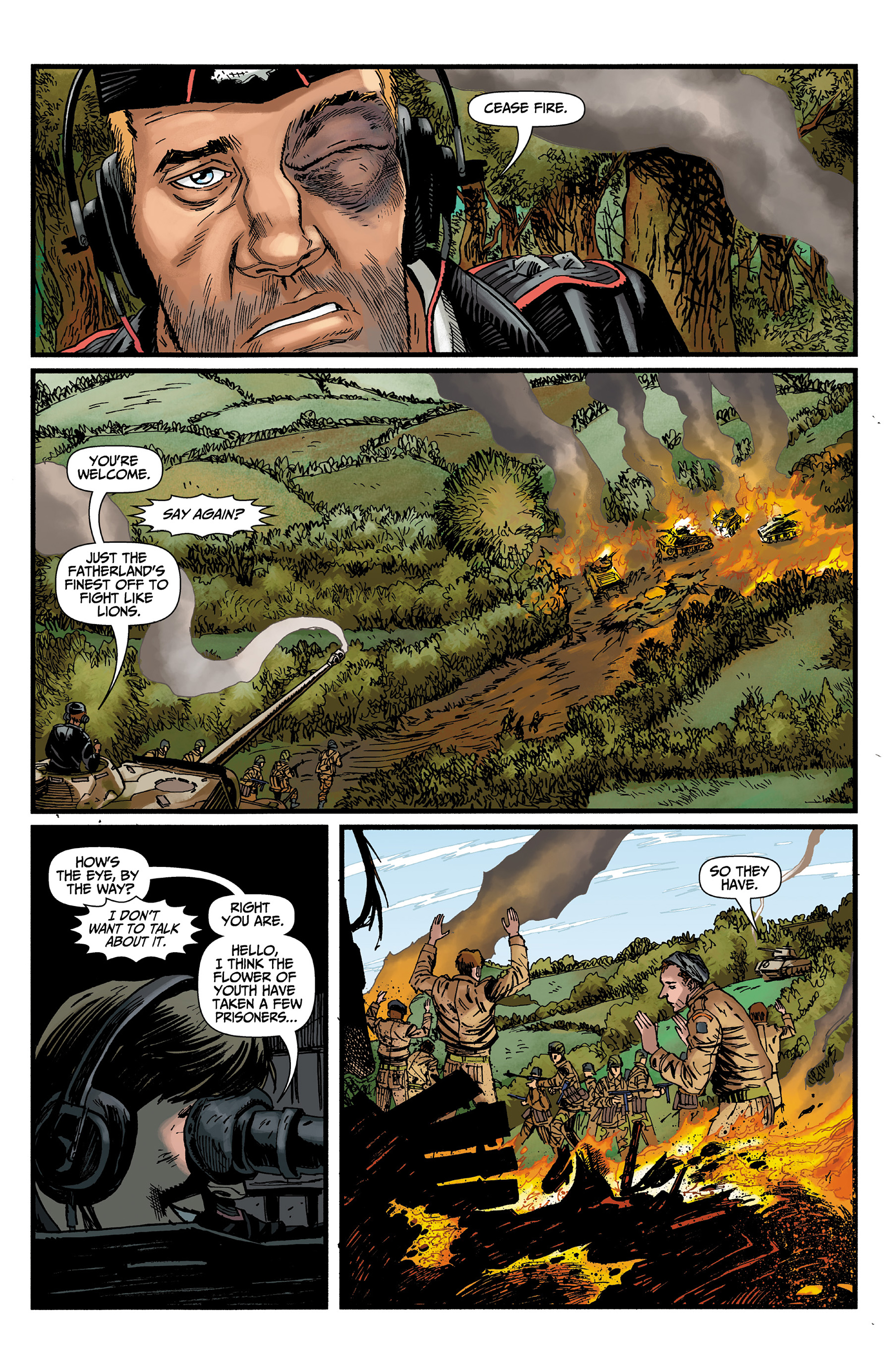 Read online World of Tanks comic -  Issue #3 - 11