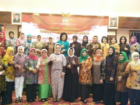 Plt Bupati Subang Menghadiri Forum Komunikasi Kepemimpinan Perempuan