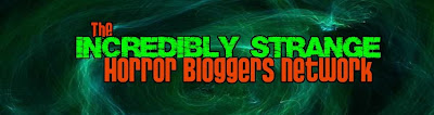 The Incredibly Strange Horror Bloggers Network logo