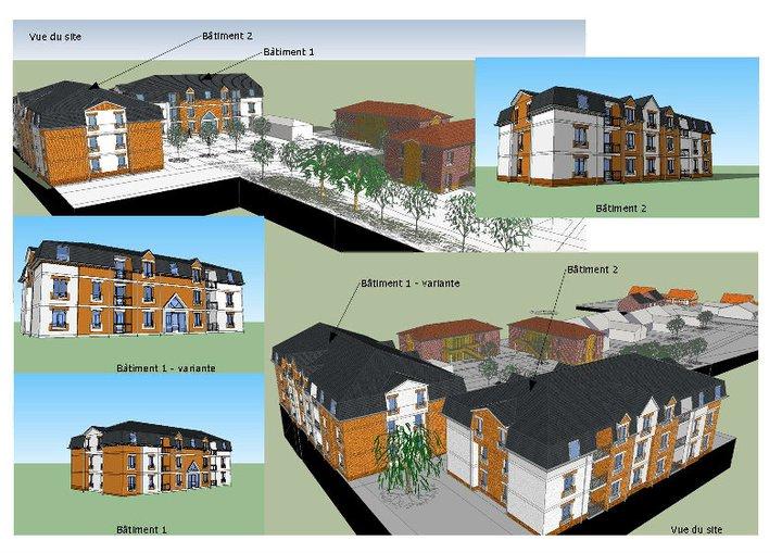 formation sketchup parler en 3d sketchup utilisation par les architectes. Black Bedroom Furniture Sets. Home Design Ideas