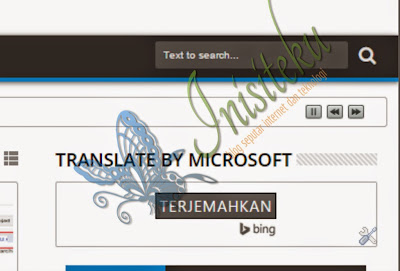 memasang widget bing translate bahasa di blog