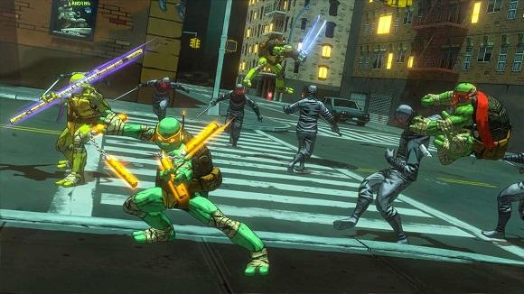Game Pc Teenage Mutant Ninja Turtles Mutants in Manhattan COMPLEX