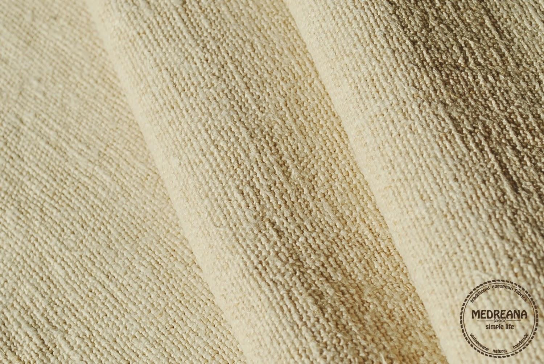 Medreana Homespun Hemp Fabric