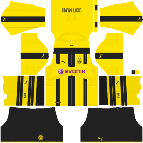 milo fts 2018 borussia dortmund kit local 20162017