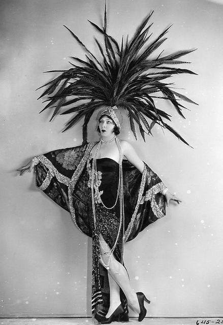Good Car Bad Car >> Vintage Ziegfeld Follies and Folies Bergère Costumes ~ vintage everyday