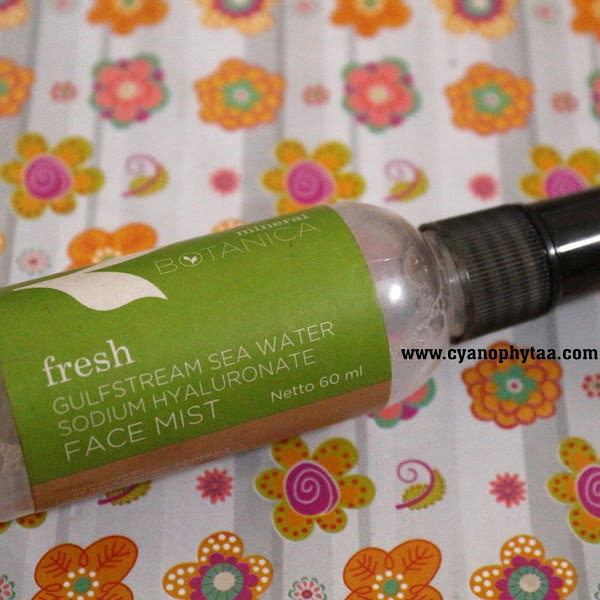 Review Mineral Botanica Face Mist