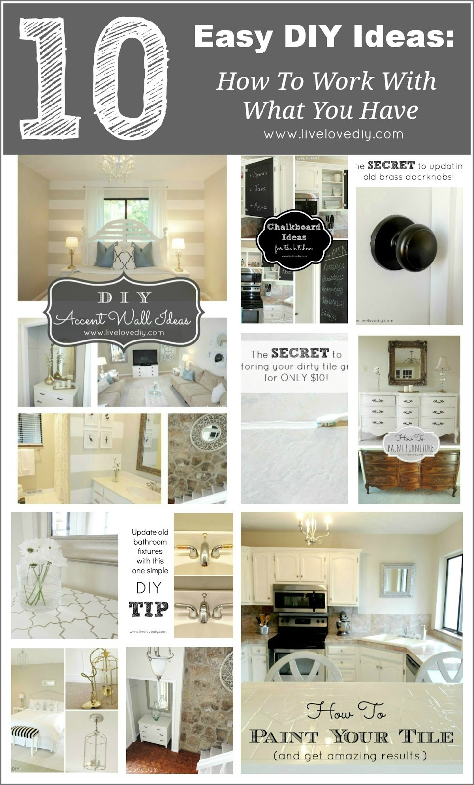 And So That S What I Ve Spent The Past Few Years Doing This Post Is A Collection Of My 10 Favorite Easy Diy Ideas