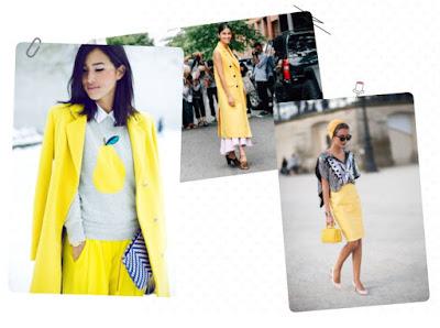 Желтый цвет сочетание в одежде