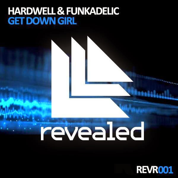 Hardwell - Get Down Girl - EP Cover