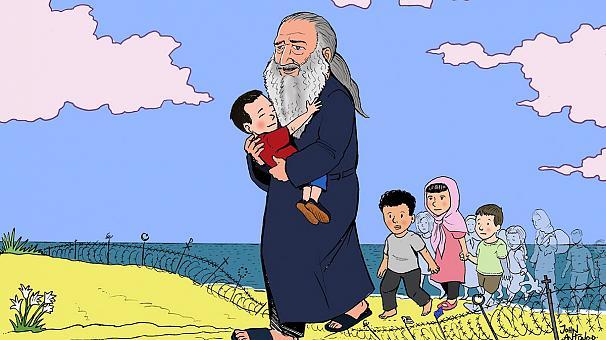 Aylan Kurdi foi enterrado em Kobani - MichellHilton.com