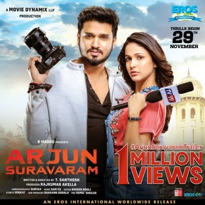 Arjun Suravaram (2019) Telugu 720p WEB-DL 1.5GB