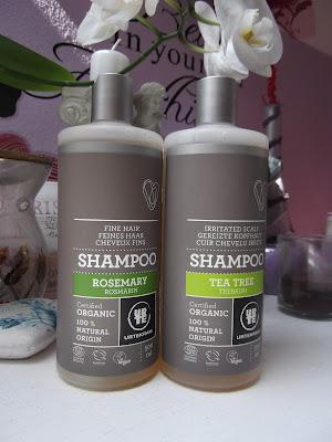 Šampóny Urtekram