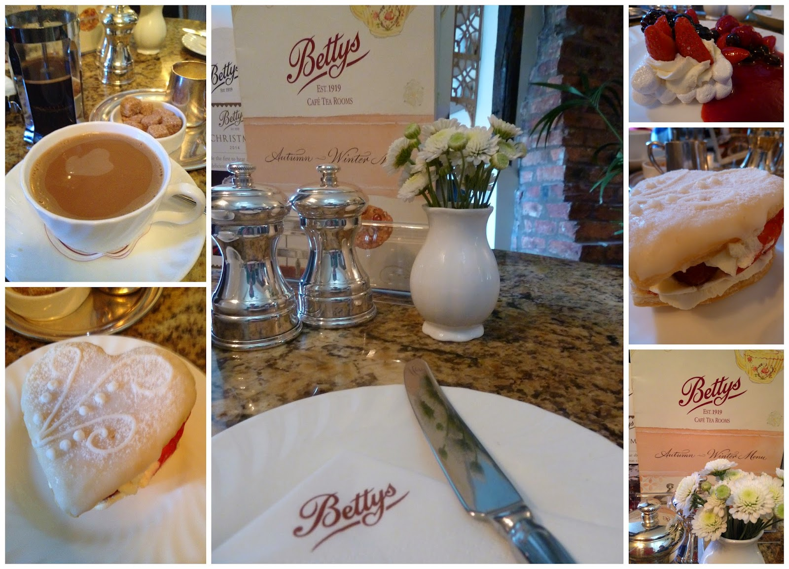 Bettys Tearoom - Stonegate, York